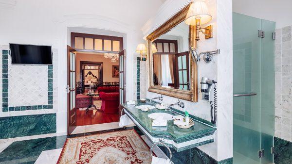 Casa de Banho do Quarto Suite Real