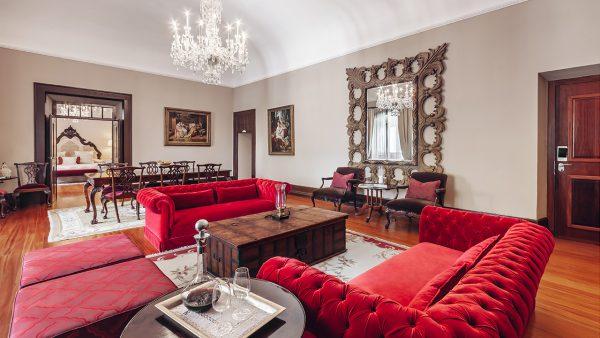 Sala do Quarto Suite Real